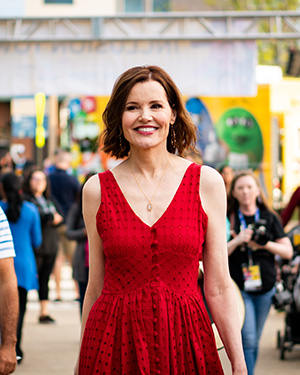 Geena Davis at the Bentonville Film Festival