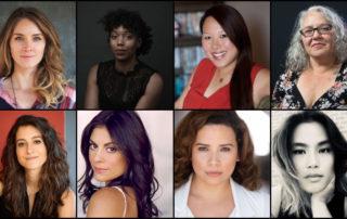 2020 Fellows: Amber McGinnis, McKenzie Chinn, Emily Ting, Dawn Valadez, Jenna Laurenzo, Ursula Taherian, Fanny Veliz, and Diane Paragas