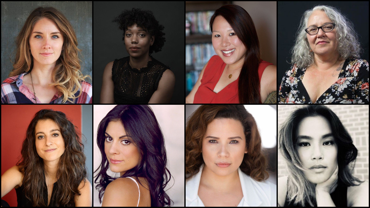 2020 Fellows: Amber McGinnis, McKenzie Chinn, Emily Ting, Dawn Valadez, Jenna Laurenzo, Ursula Taherian, Fanny Veliz, and Diane Paragas